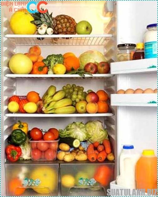 Cách bảo quản thức ăn trong tủ lạnh tươi lâu