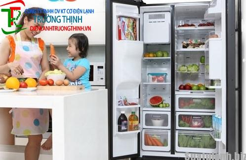 Vì sao tủ lạnh không có hơi lạnh