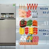 Top 5 tủ lạnh bán chạy tháng 4/2017