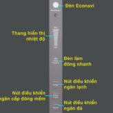 Hướng dẫn chi tiết sử dụng bảng điều khiển tủ lạnh Panasonic BV – Series